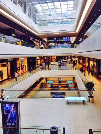 interior: Ozdilek Park stanbul Shopping Mall interior view