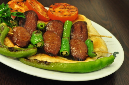Turkish kebab photo
