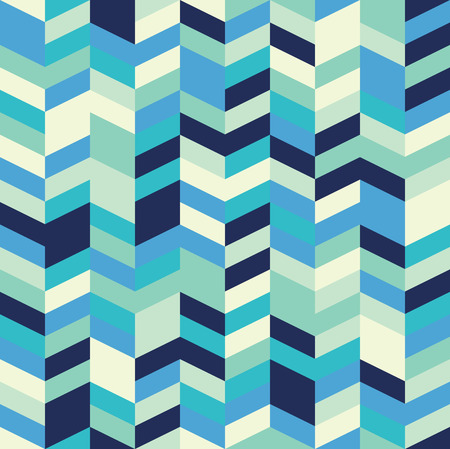 simple: Seamless herringbone pattern with a cool pastel color palette