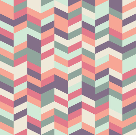 graphic pastel: Seamless herringbone pattern with a cool pastel color palette