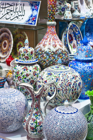 turkish people: Turkish traditional pottery goods