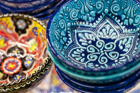 kapalicarsi: Turkish traditional pottery goods