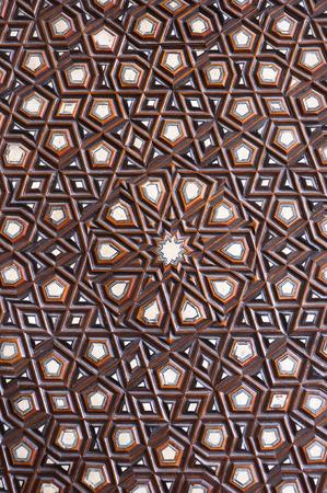 woodcutting: Islamic pattern
