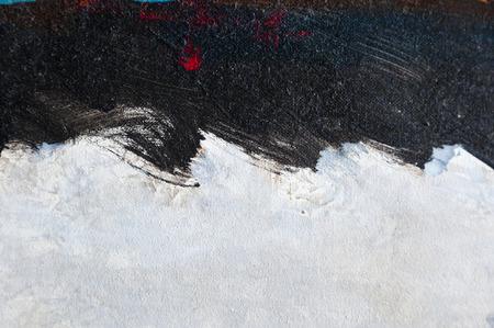 塗られたキャンバスのテクスチャの背景 写真素材