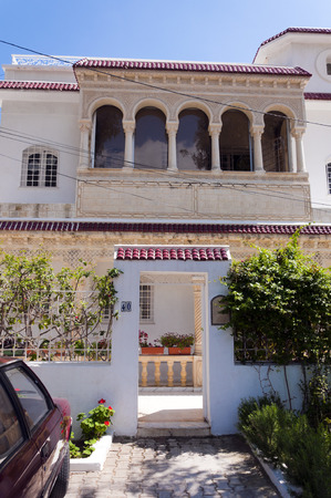 arab flags: Tunisian architecture
