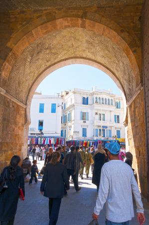 main gate: Port de France, Tunis, Tunisia