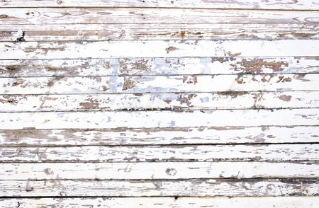 Grunge white wooden panels background