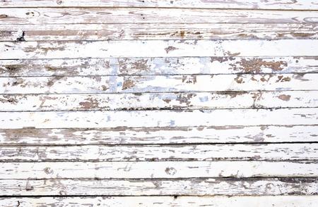Grunge white wooden panels background