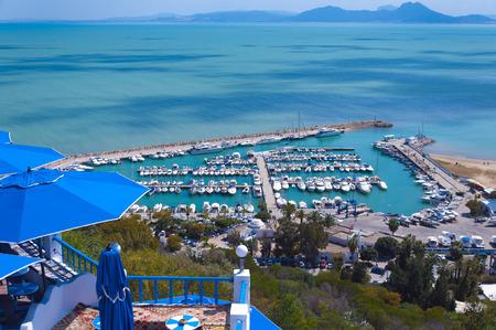 ventanas abiertas: Sidi Bou Said, Túnez