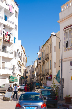 clowds: Tunis, Tunisia