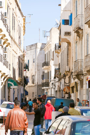Tunis city center, Tunisia