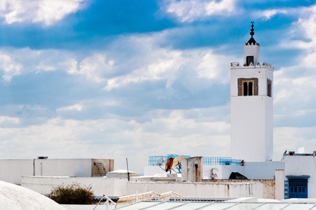 Mosque in Tunisia photo