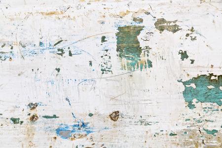 Grunge peeled wooden texture background Foto de archivo
