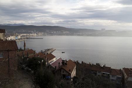 marmara: Gemlik town near Bursa, Turkey, Marmara Sea