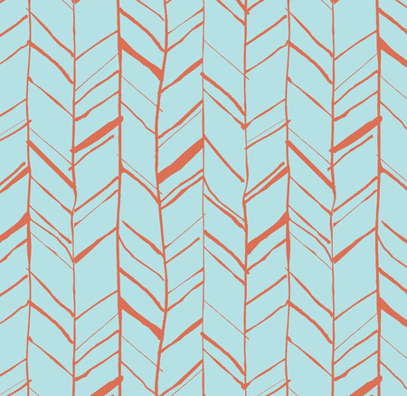 perfectly: Hand drawn creative herringbone pattern, perfectly seamless composition for print or web projects