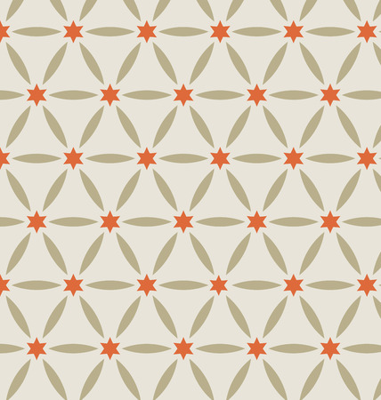 magen david: Vector seamless pattern, classic decorative design element