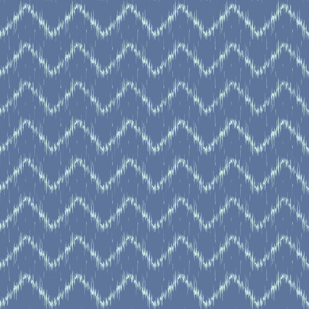 Vector seamless patter design with traditional ikat repeating ornaments Vector