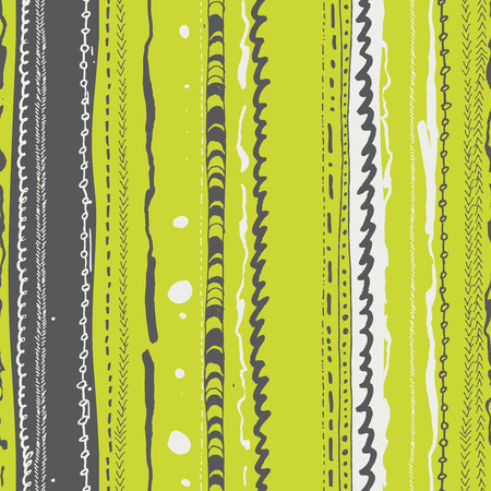 twill: Vector seamless patter design with doodle lines repeating ornaments