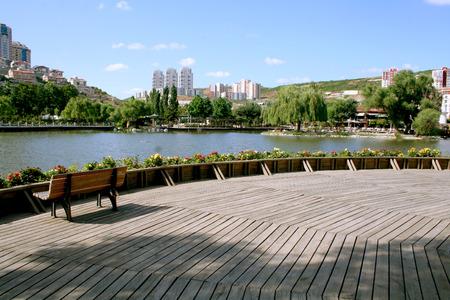 Park in Bahcesehir Istanbul photo