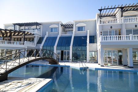 Luxurious resort in Bodrum, Turkey Editorial