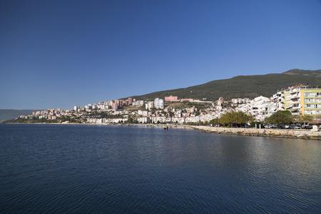 generic location: Gemlik town and Gemlik Bay located by the nothwest of Marmara Sea Turkey