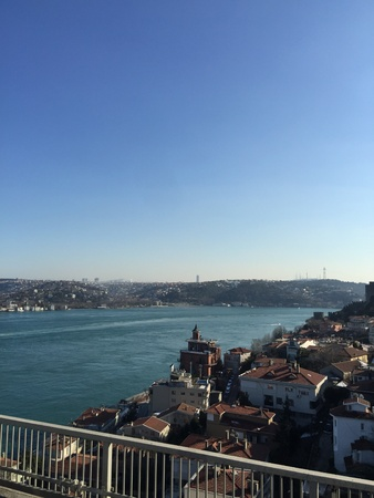 urban: View of the Bosphorus from the Bridge Istanbul Turkey