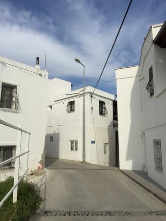 architecture: Beautiful Aegean-Mediterranean architecture in Bodrum, Turkey