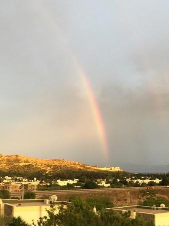colour: Rainbow in Bodrum