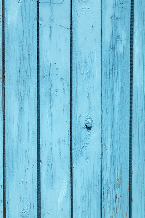Vertical texture background of blue grunge wooden panels photo