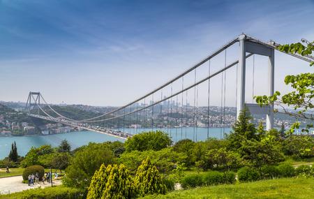 Otagtepe、浄水から FSM 橋イスタンブール ビュー