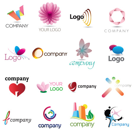 A collection of corporate logo designs for your business