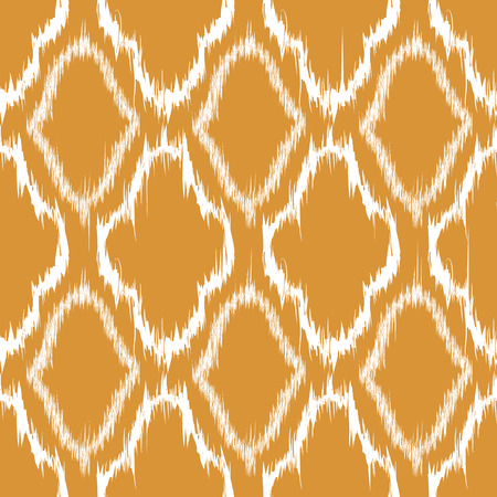 textile  texture: Seamless pattern design in ikat style, perfect for fabric prints, object surfaces, web backgrounds etc.   Illustration