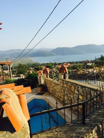 mugla: View of Akyaka, Gokova bay by the Aegean Sea, Mugla, Turkey