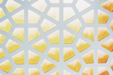 grid: Hexagonal Pattern