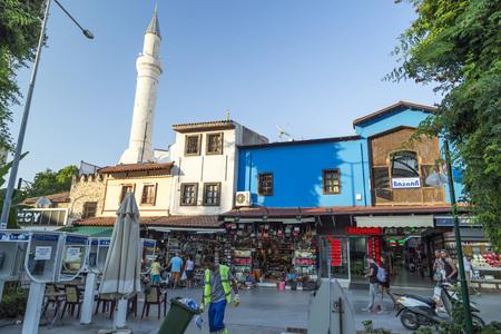 mehmed: Street in Kusadasi town, Turkey