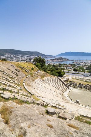 Amphitheater of Halicarnassus, Bodrum, Turkey