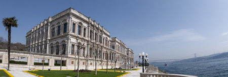 View from the garden of Ciragan Palace, former Ottoman Imperial palace