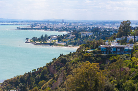 View of Tunis from Sidi Bou Said