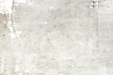 White painted and peeled obsolete wooden texture (background, white, wood)