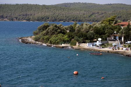Aegean Sea coastline, Turkey