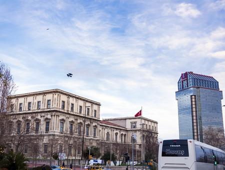 Hyatt and Ritz Carlton hotels located at the center of the city, Taksim Square near Gezi Park, ıstanbul