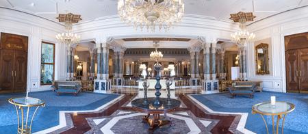Inteiror of Ciragan Palace, Istanbul Editorial