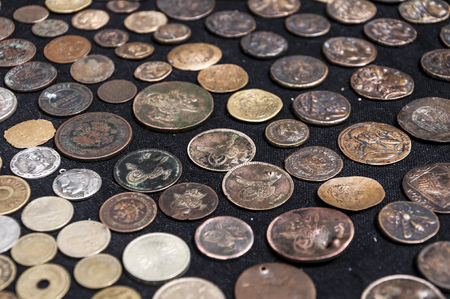 Collection of the various international coins