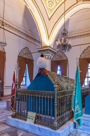 tumbas: Tumbas de los sultanes otomanos, Bursa, Turquía Editorial