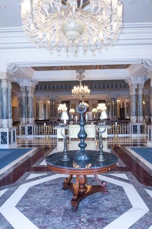 palaces: Interior view from Ciragan Palace, Istanbul
