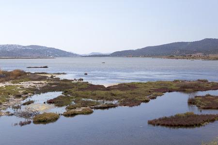 ortseingangsschild: Ägäisküste, Türkei Lizenzfreie Bilder