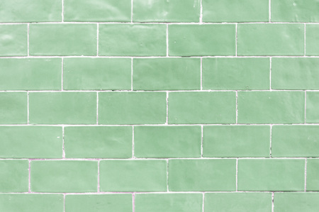 aqua background: Aqua colored brick wall texture background