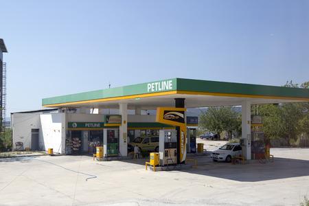 Turkish gas station