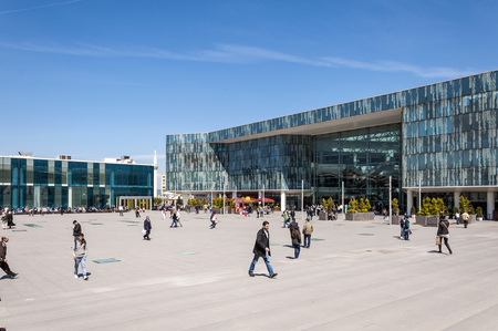 kent: Bursa Kent Meydani, city square and shopping mall, Turkey Editorial