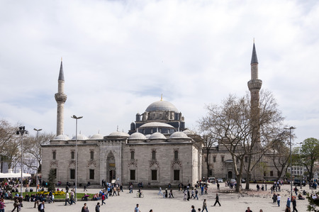 Beyazit Mosque, Istanbul, Turkey Stock Photo